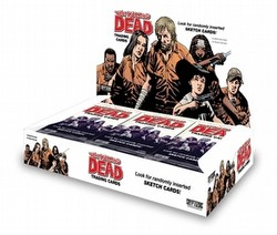 The Walking Dead Comic Book Trading Cards Box Case [12 boxes]