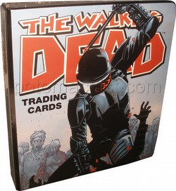 The Walking Dead Comic Book Trading Cards Complete Set & San Diego Comic-Con Binder
