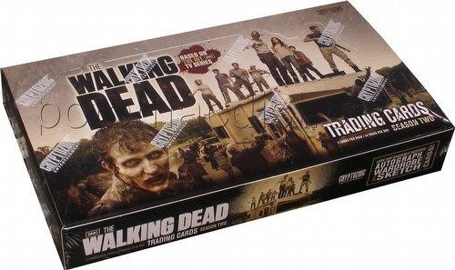 The Walking Dead Season 2 Trading Cards Box