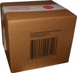 The Walking Dead Season 2 Trading Cards Box Case [12 boxes]