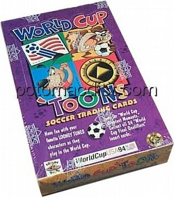 World Cup Toons Trading Cards Box