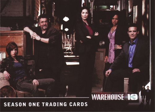 Warehouse 13 Season 1 Trading Cards Binder Case [4 binders]