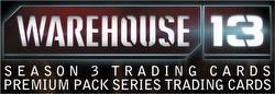 Warehouse 13 Season 3 Premium Pack Trading Cards Box