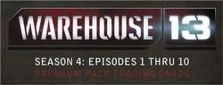 Warehouse 13 Season 4 Premium Pack Trading Cards Box
