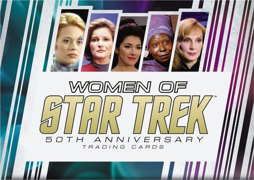 Star Trek: The Women of Star Trek 50th Anniversary Trading Cards Box