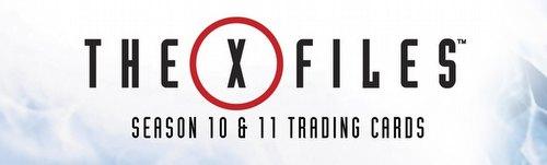 X-Files Seasons 10 & 11 Trading Cards Box