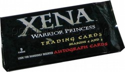 Xena Seasons 4 & 5 Trading Cards Pack