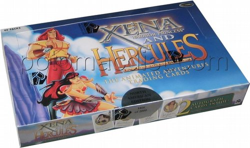 Xena And Hercules: The Animated Adventures Trading Cards Box [North American Version]