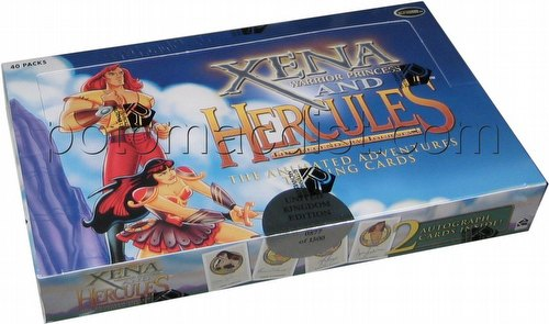 Xena and Hercules: The Animated Adventures Trading Cards Box [International Version]