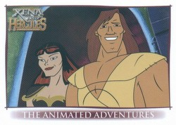 Xena And Hercules: The Animated Adventures Binder Case [4 binders]