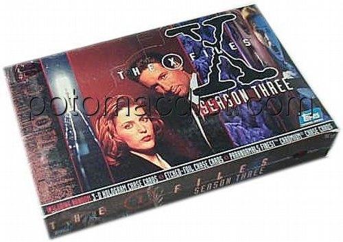 X-Files Season 3 Trading Cards Box