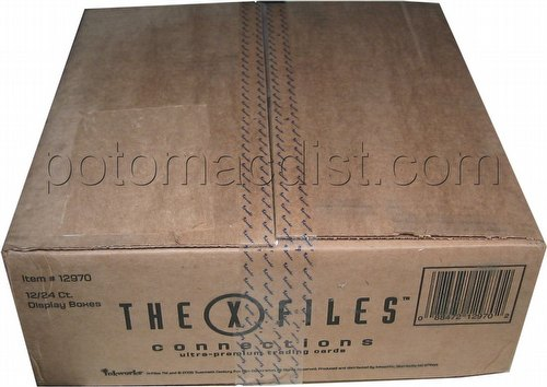The X-Files: Connections Ultra-Premium Trading Cards Box Case [12 boxes]