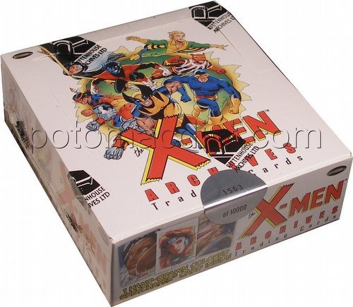 X-Men Archives Trading Cards Box