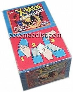 X-Men Sanctuary Stickers Box