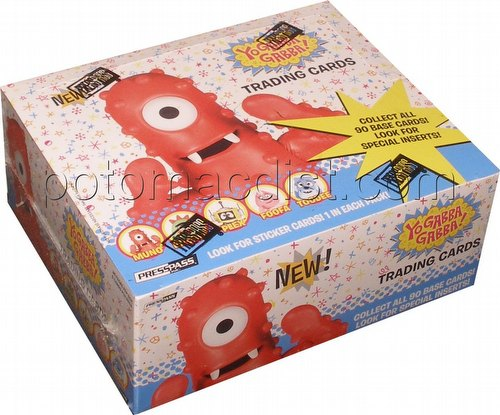 Yo Gabba Gabba! Trading Cards Box