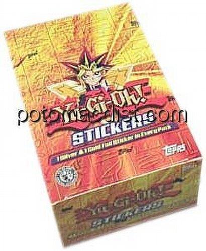 Yu-Gi-Oh Stickers Box