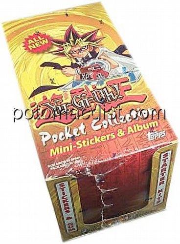 Yu-Gi-Oh Stickers & Mini Albums Box