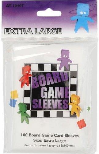 Arcane Tinmen Extra Large Board Game Sleeves Pack [65mm x 100mm]