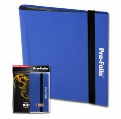 BCW 4-Pocket Pro-Folio Blue