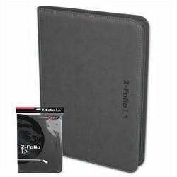 BCW 9-Pocket Z-Folio LX Gray
