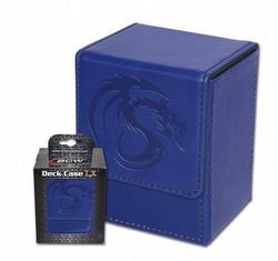 BCW LX Deck Case (Deck Box) Blue