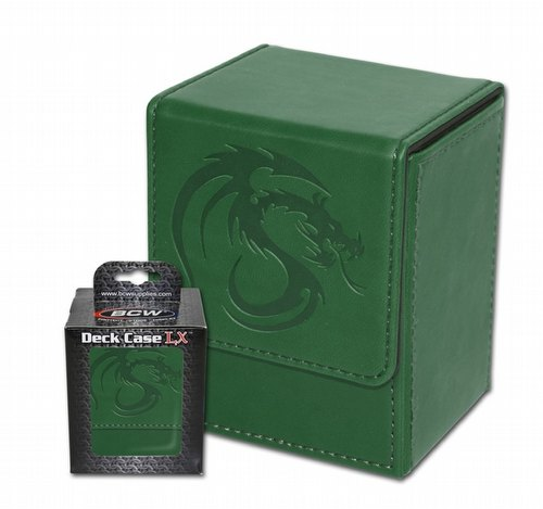 BCW LX Deck Case (Deck Box) Green