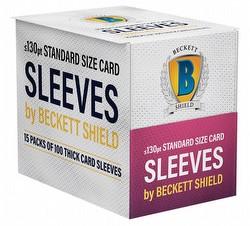 Beckett Shield: Thick Card Size Sleeves Box