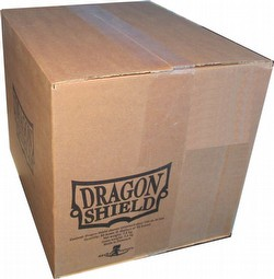 Dragon Shield Standard Size Card Game Sleeves Case - Matte Clear [5 boxes]