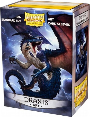 Dragon Shield Art Cards Sleeves Display Box - Draxis