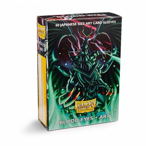 Dragon Shield Japanese (Yu-Gi-Oh Size) Art Card Sleeves Box - Blood Eyes