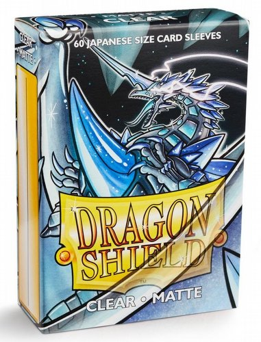 Dragon Shield Japanese (Yu-Gi-Oh Size) Card Sleeves Pack - Matte Clear