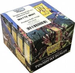 Dragon Shield Japanese (Yu-Gi-Oh Size) Card Sleeves Box - Matte Mint [10 packs]