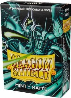 Dragon Shield Japanese (Yu-Gi-Oh Size) Card Sleeves - Matte Mint [2 Packs]