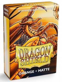 Dragon Shield Japanese (Yu-Gi-Oh Size) Card Sleeves - Matte Orange [5 Packs]