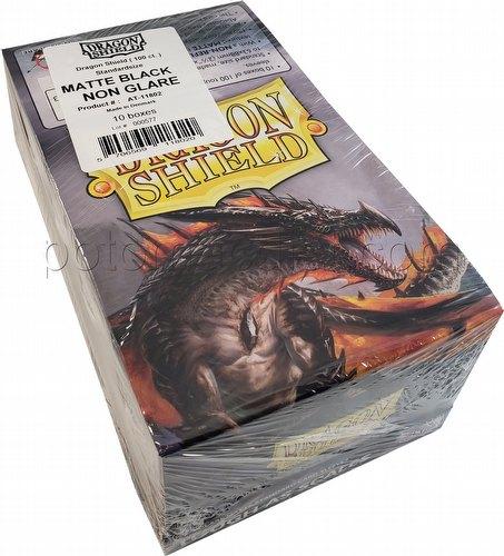 Dragon Shield Sleeves Box - Matte Black Non-Glare Amina