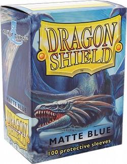Dragon Shield Deck Protector Pack - Matte Blue