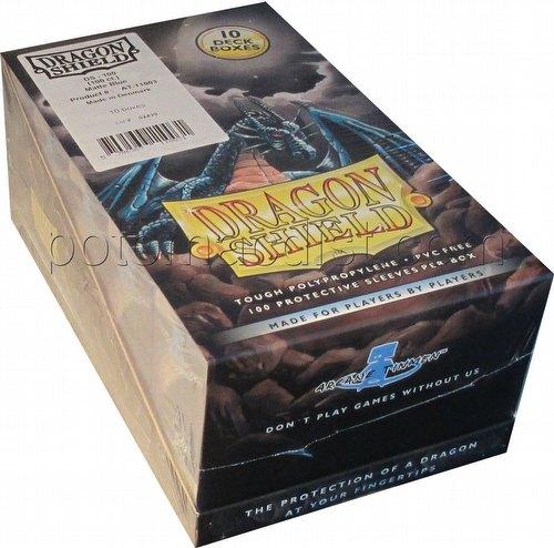 Dragon Shield Standard Size Card Game Sleeves Box - Matte Blue