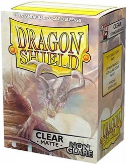 Dragon Shield Sleeves Pack - Matte Clear Non-Glare