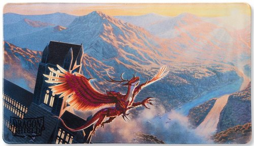 Dragon Shield Play Mat - Matte Crimson (Logi)
