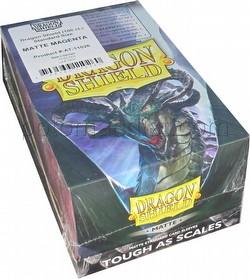 Dragon Shield Standard Size Card Game Sleeves Box - Matte Magenta