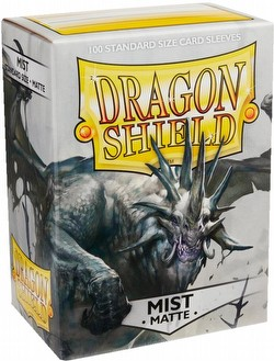 Dragon Shield Standard Size Card Game Sleeves Pack - Matte Mist