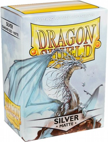Dragon Shield Standard Size Card Game Sleeves Pack - Matte Ivory
