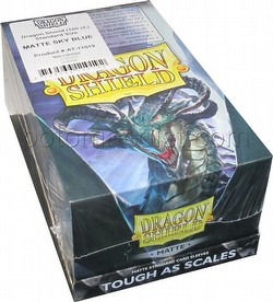 Dragon Shield Standard Size Card Game Sleeves Box - Matte Sky Blue
