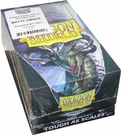 Dragon Shield Standard Size Card Game Sleeves Box - Matte Umber