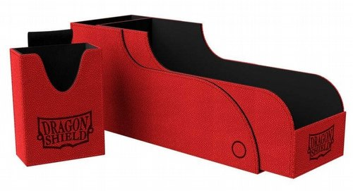 Dragon Shield Nest+ 300 Deck Box - Red/Black