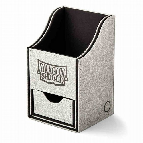Dragon Shield Nest+ 100 Deck Box - Light Grey/Black