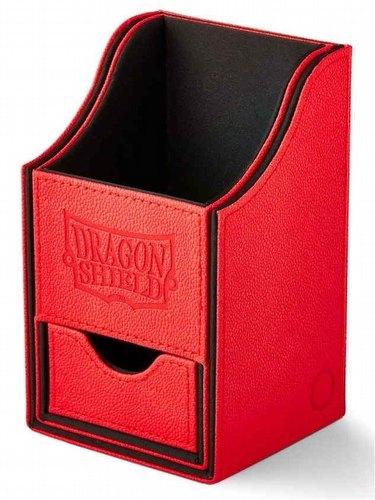 Dragon Shield Nest+ 100 Deck Box - Red/Black