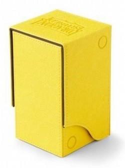 Dragon Shield Nest+ 100 Deck Box - Yellow/Black