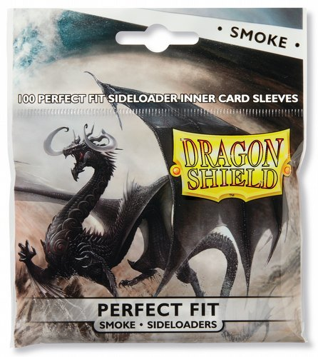 Dragon Shield Perfect Fit Side-Loading Sleeves Box - Smoke