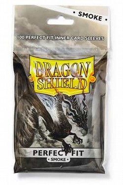 Dragon Shield Perfect Fit Sleeves Box - Smoke